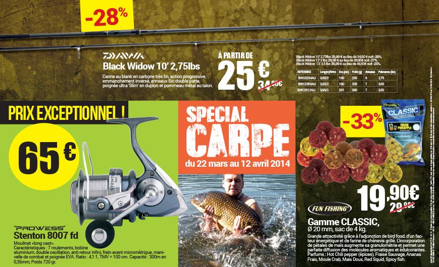 Opération Carpe dans le réseau de magasins Europêche
